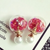 Picture of Double-side Glass Bubbles Colorful Paillette Earrings