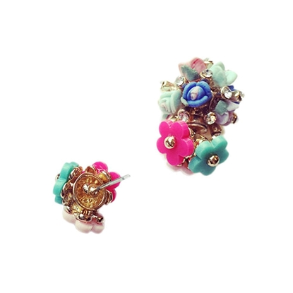 Picture of Colorful Daisy Earrings