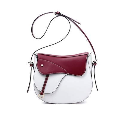 Picture of NAWO Smooth Leather Saddle Bag