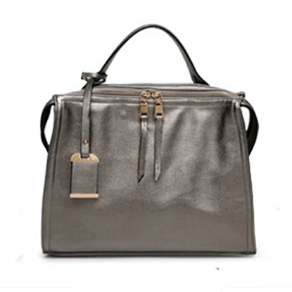 Picture of Malisiwei Fashionable Simple Lady Bag(Silver Grey)