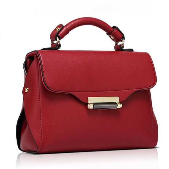 Picture of Simple Casual Cross-body bag (Red)