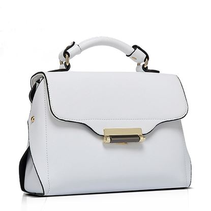 Picture of Simple Casual Cross-body bag (White)