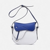 Picture of NAWO Smooth Leather Saddle Bag (Blue)