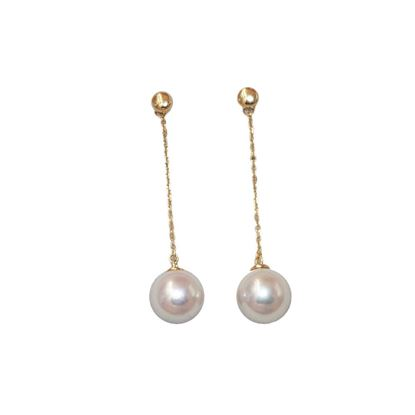 Picture of 18K Gold Akoya Pearl Ear Line