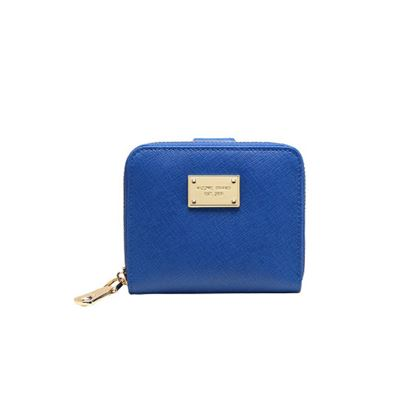 Picture of Cross Pattern Folding Multifunction Mini Purse(Sapphire Blue)