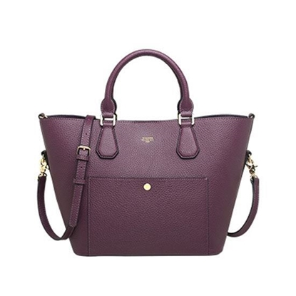 Picture of KIZZME Cowhide Leather Bag in Wing Shape(Purple)