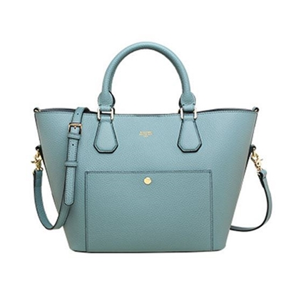Picture of KIZZME Cowhide Leather Bag in Wing Shape(Blue)