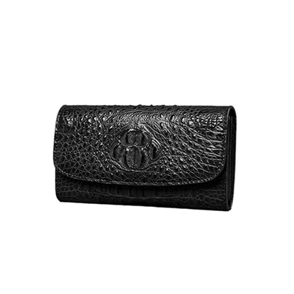 Picture of Handmade Custom  Crocodile Long Wallet