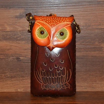 Picture of Handmade Mobile Bag - Owl