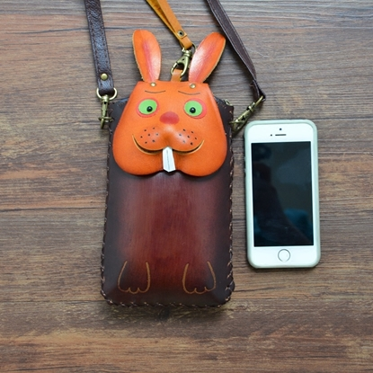 Picture of Handmade Mobile Bag - Bunny