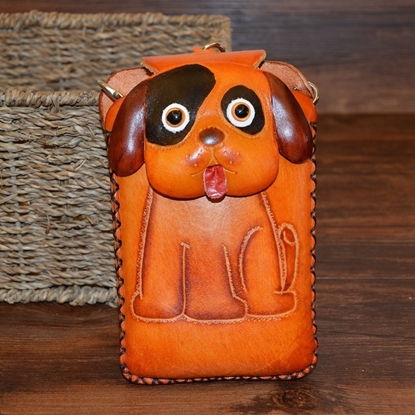 Picture of Handmade Mobile Bag - Puppy