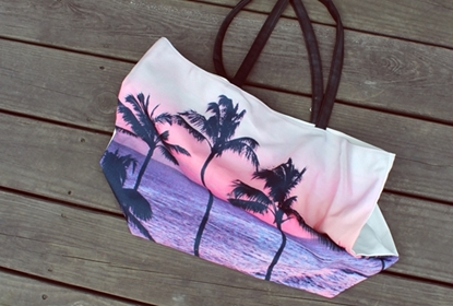 Picture of Canvas Sack - Coconut Palm