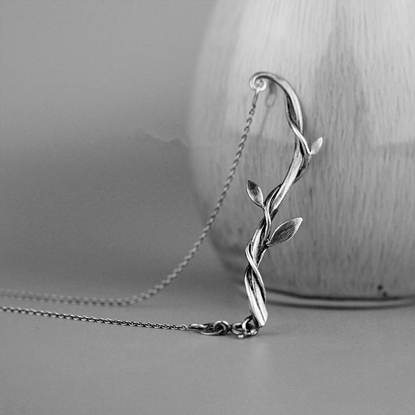 Picture of RAINK Handmade 99 Fine Silver Necklace - Vine
