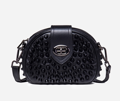 Picture of NAWO Rivet Round Cross Body Bag