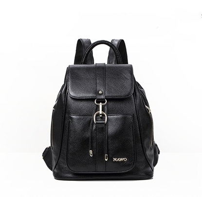Picture of NAWO Soft Leather Large-capacity Backpack