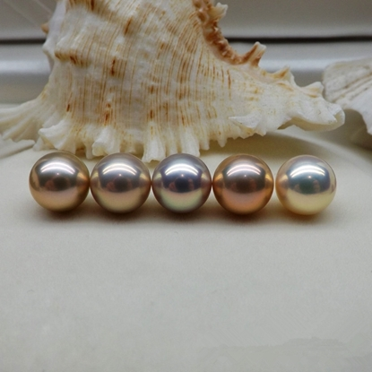 Picture of KAYS 10-11mm Single Perfect Round Freshwater Pearl